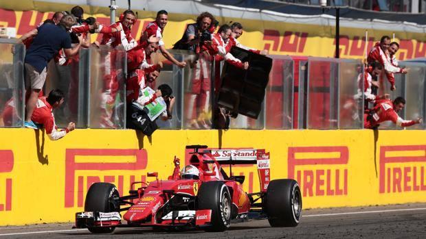 Vettel trionfo in Ungheria