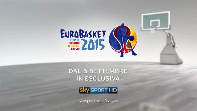 Anche Eurobasket 2015 in esclusiva su Sky Sport