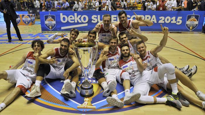 Reggio Emilia festeggia la Supercoppa Italiana