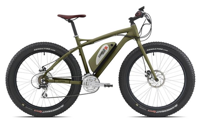 Fat e-Bike Scrambler Ducati