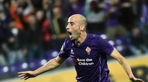 Borja Valero, fantastico contro l'Atalanta