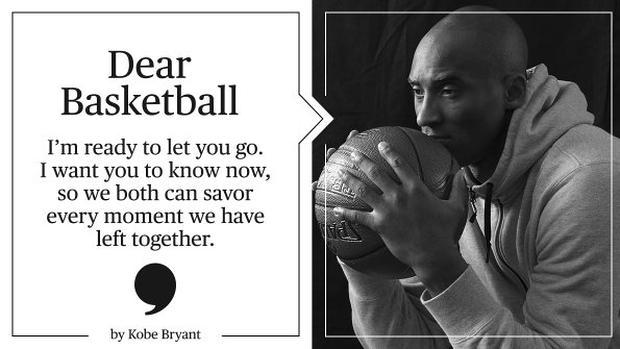 """""""Dear Basketball, questa stagione è tutto quello che mi rimane da dare"""""""
