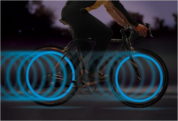 Luci LED per le ruote delle vostre biciclette