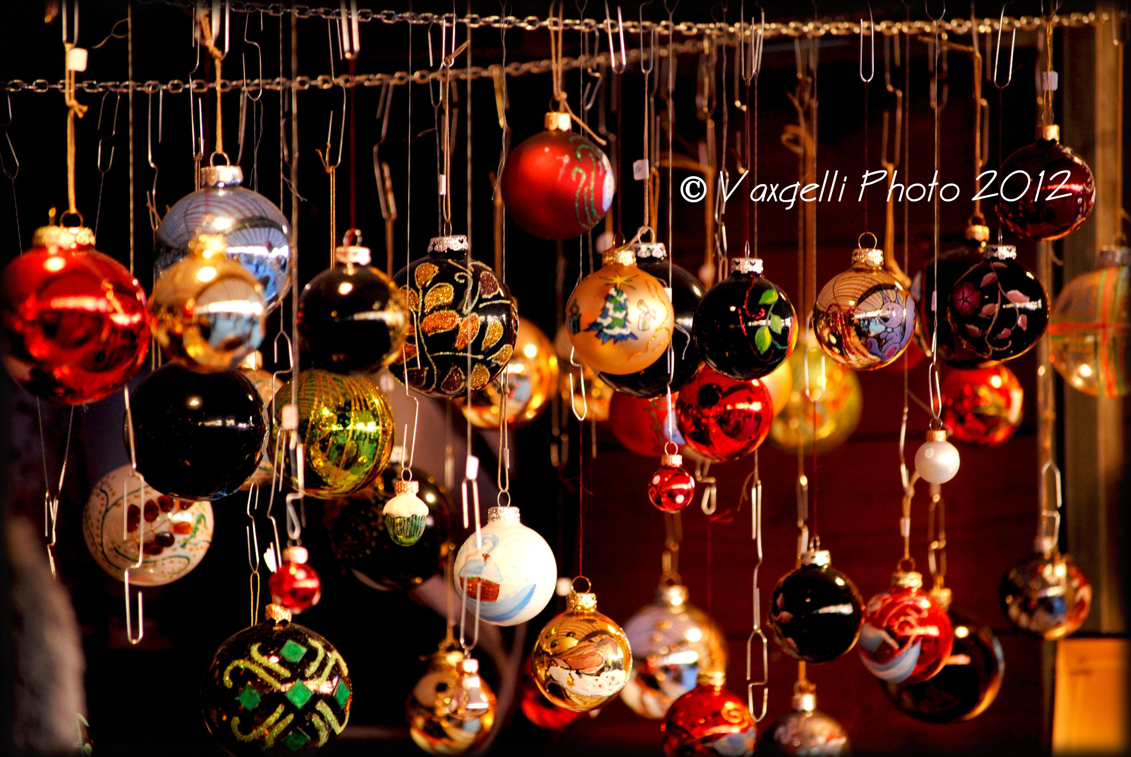 Mercatini di Natale in piazza Santa Croce a Firenze