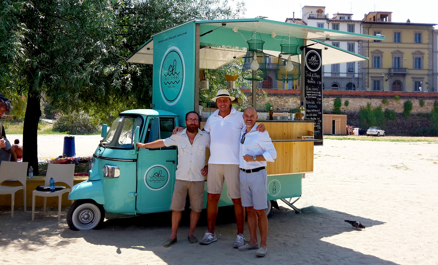 """Pescepane"", il Re dello Street Sea Food"
