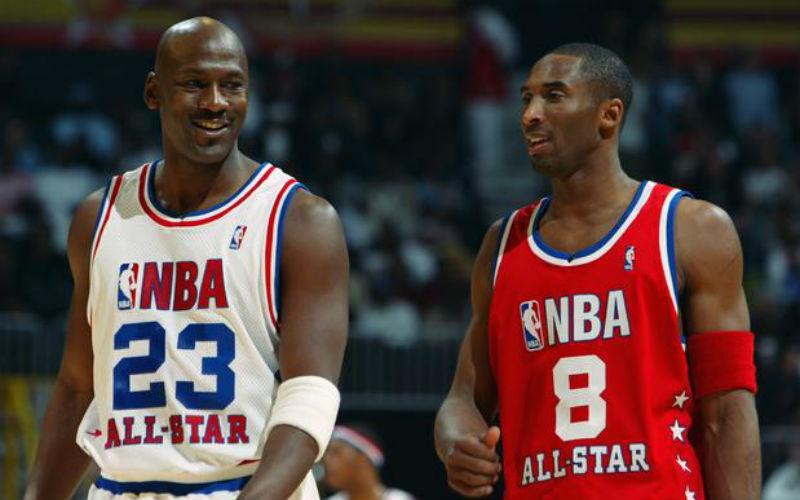Kobe Bryant e Michael Jordan