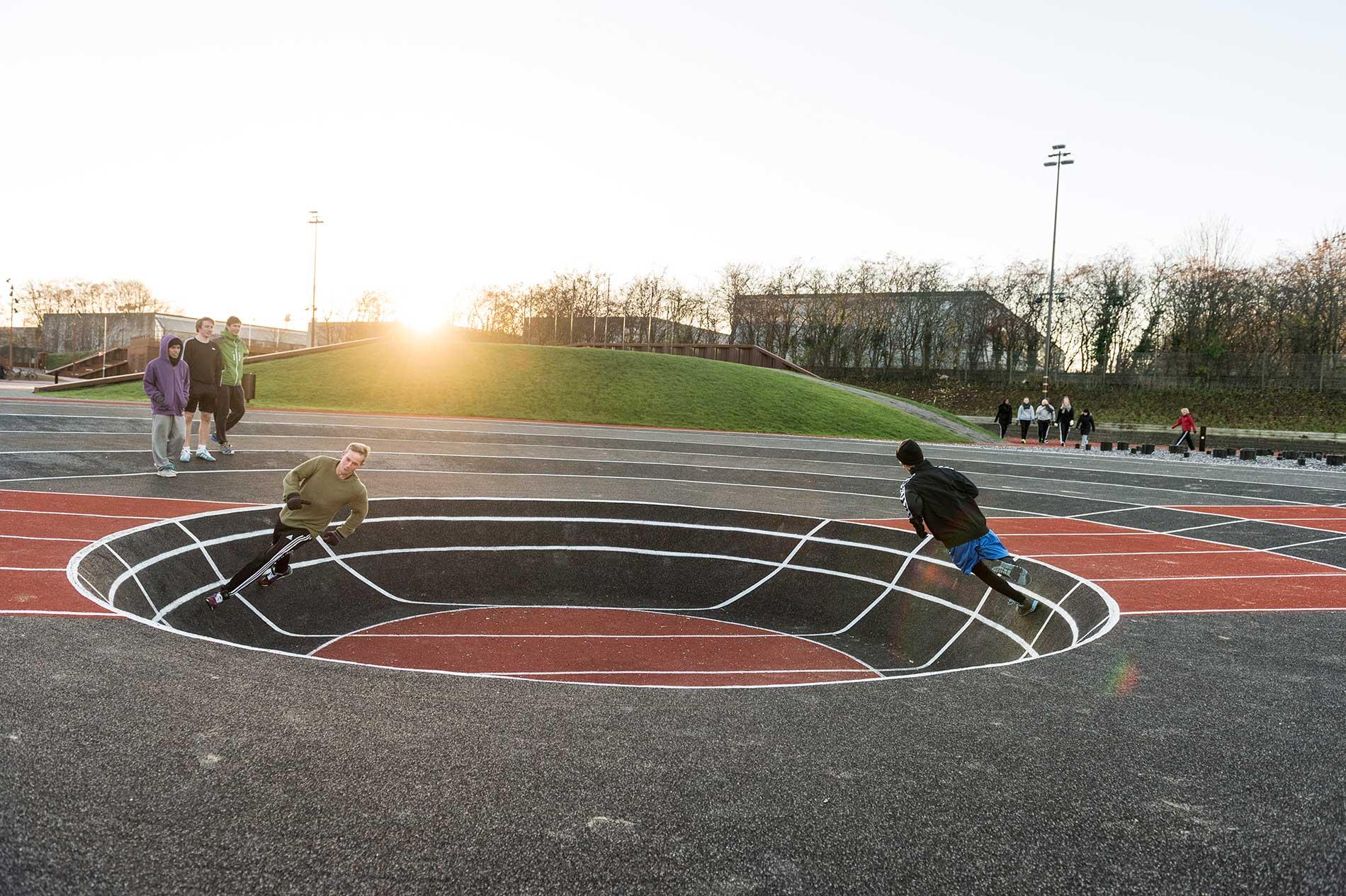 Athletics Exploratorium - Rotatoria