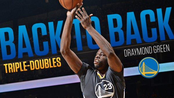 NBA: fenomenale Draymond Green! 6^ tripla doppia stagionale