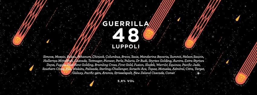 """Birra Artigianale: """"Guerrilla 48 Luppoli"""" del birrificio CR/AK"""