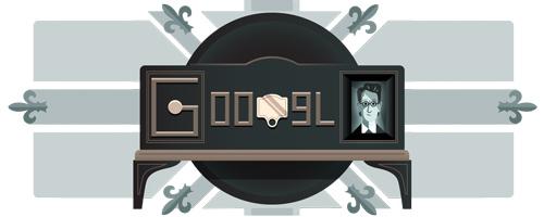 Il #Google #doodle per i 90 della prima dimostrazione televisiva