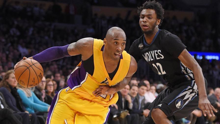 un super Kobe Bryant segna 38 punti contro Minesota