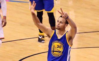 Stephen Curry fa capire al pubblico che si andrà a gara-7
