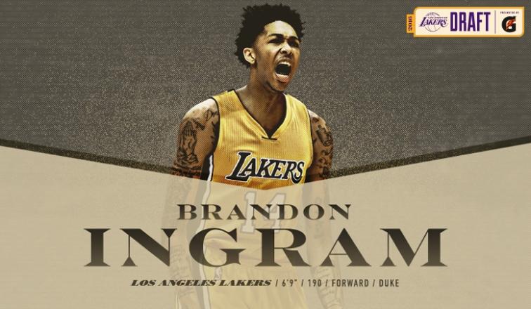 Brandon Ingram è un giocatore dei Lakers