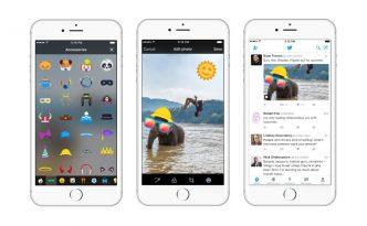 #Stickers: anche su #Twitter arrivano gli adesivi da incorporare nelle foto