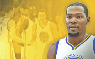 Kevin Durant ai Golden State Warriors