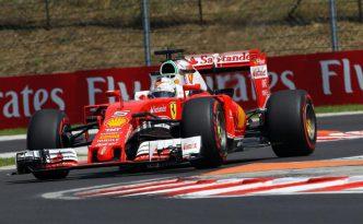 Vettel in Ungheria
