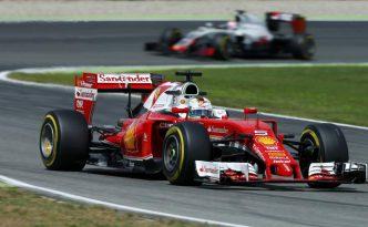 Vettel in pista ad Hockeineim