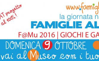 Giornata Nazionale delle Famiglie al Museo - Domenica 9 ottobre 2016