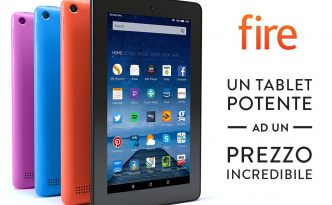 Amazon, ecco l'antipasto del BlackFriday: Kindle Paperwhite e Tablet Fire in offerta!