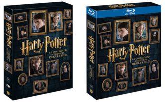 I cofanetti con la serie completa di Harry Potter