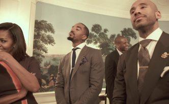 Il Mannequin Challenge dei Cleveland Cavs alla Casa Bianca con Michelle Obama