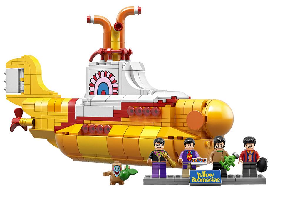 "Lego Ideas 21306 ""The Beatles Yellow Submarine"""