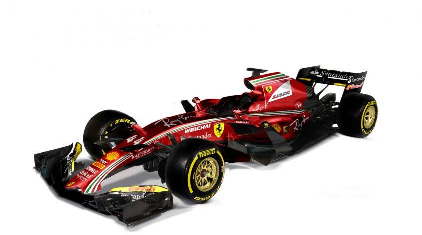 Sarà così la Ferrari del 2017?