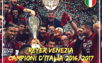 Basket: la Reyer Venezia è Campione d'Italia