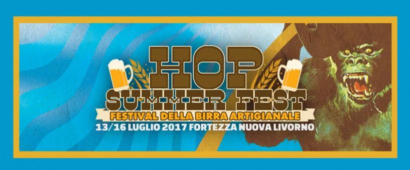 Hop Summer Fest, Festival della Birra Artigianale - Dal 13 al 16 luglio 2017 a Livorno