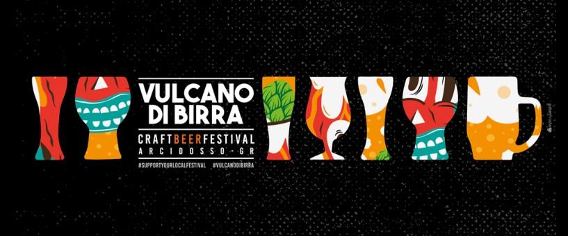 Vulcano di Birra - Craft Beer Festival. Ad Arcidosso dal 21 al 23 Luglio 2017