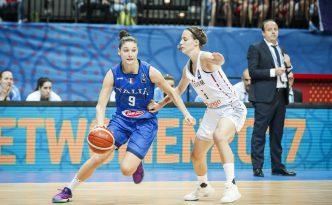 Cecilia Zandalasini ad Eurobasket 2017