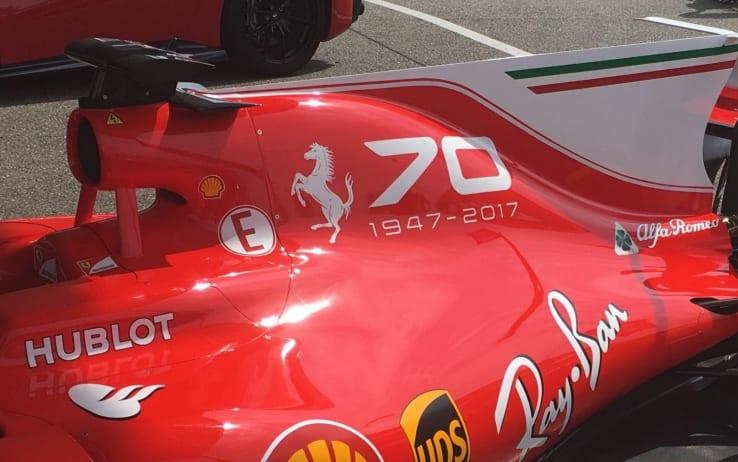 La livrea della Ferrari per Monza 2017