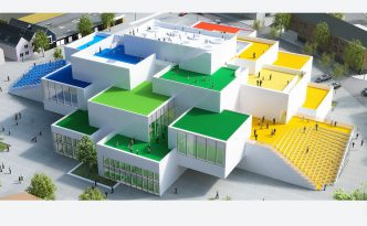 Il 28 settembre 2017 in Danimarca apre la Lego House