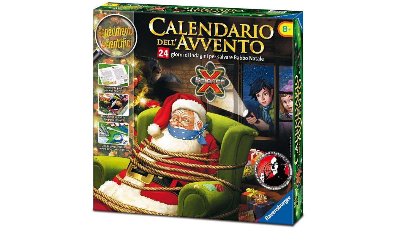 Ravensburger : Calendario dell'Avvento, Salva Babbo Natale