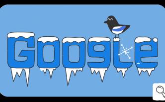 Il doodle di Google per celebrare i Giochi Olimpici invernali di Pyeongchang 2018