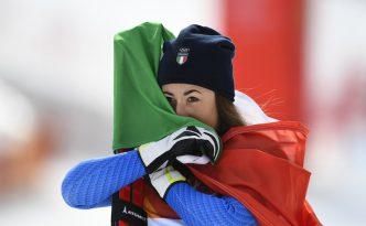 Sofia Goggia conquista l'oro nella discesa libera alle Olimpiadi invernali di PyeongChang