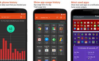 Schermate di App Usage