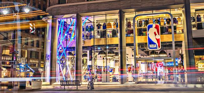A Milano arriva il primo NBA Store ufficiale in Europa
