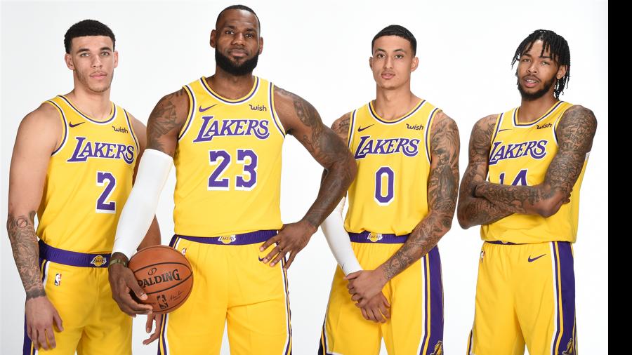 La stagione dei Lakers è stata costellata dagli infortuni