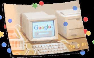 Buon compleanno Google!