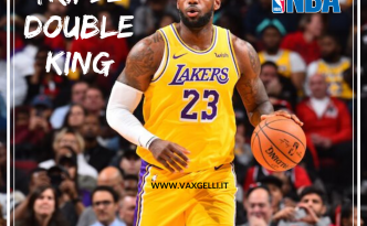 LeBron James trascina i Lakers a forza di triple doppie