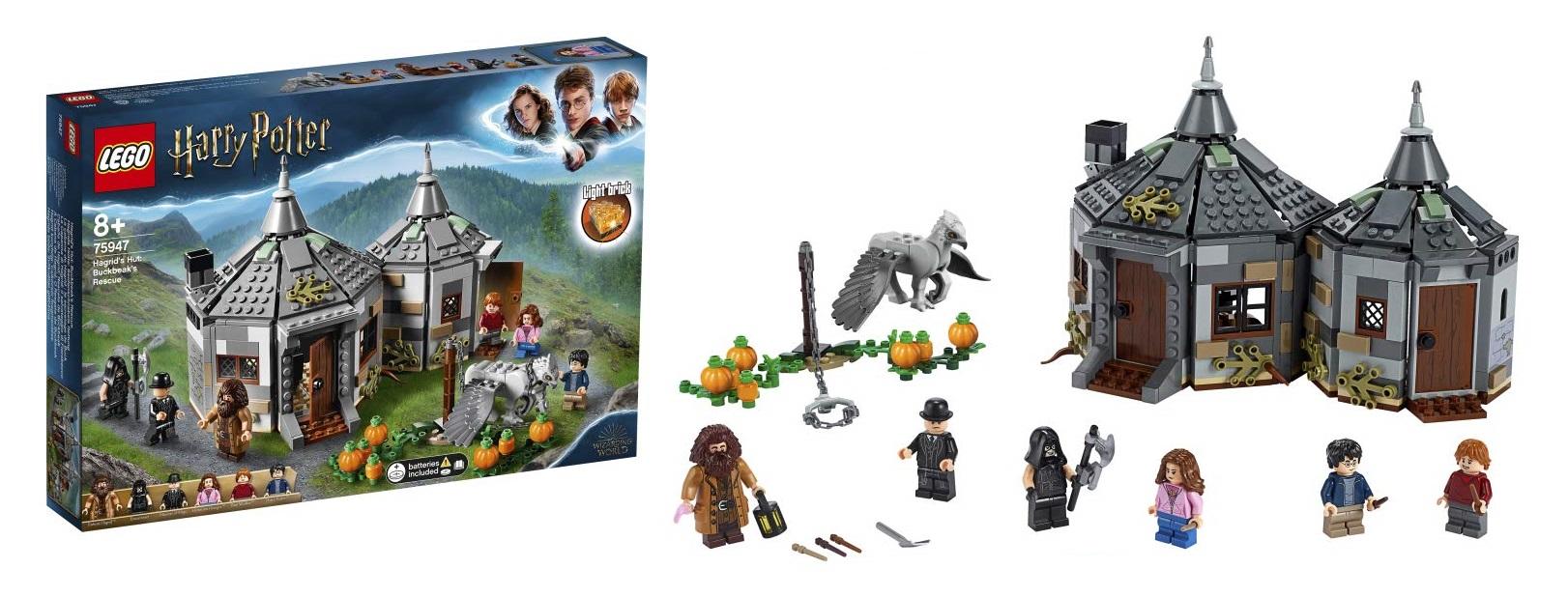 La Capanna di Hagrid: il Salvataggio di Fierobecco - Lego 75947