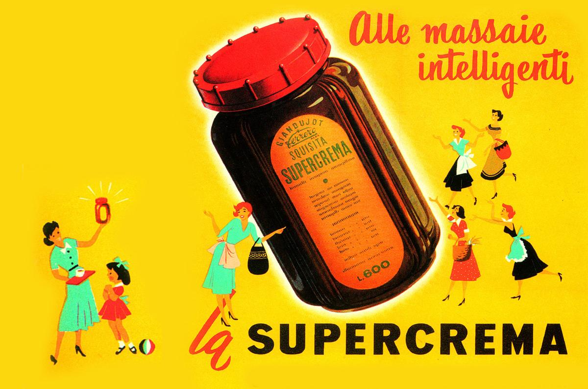 SuperCrema, l'antenata della famosa Nutella