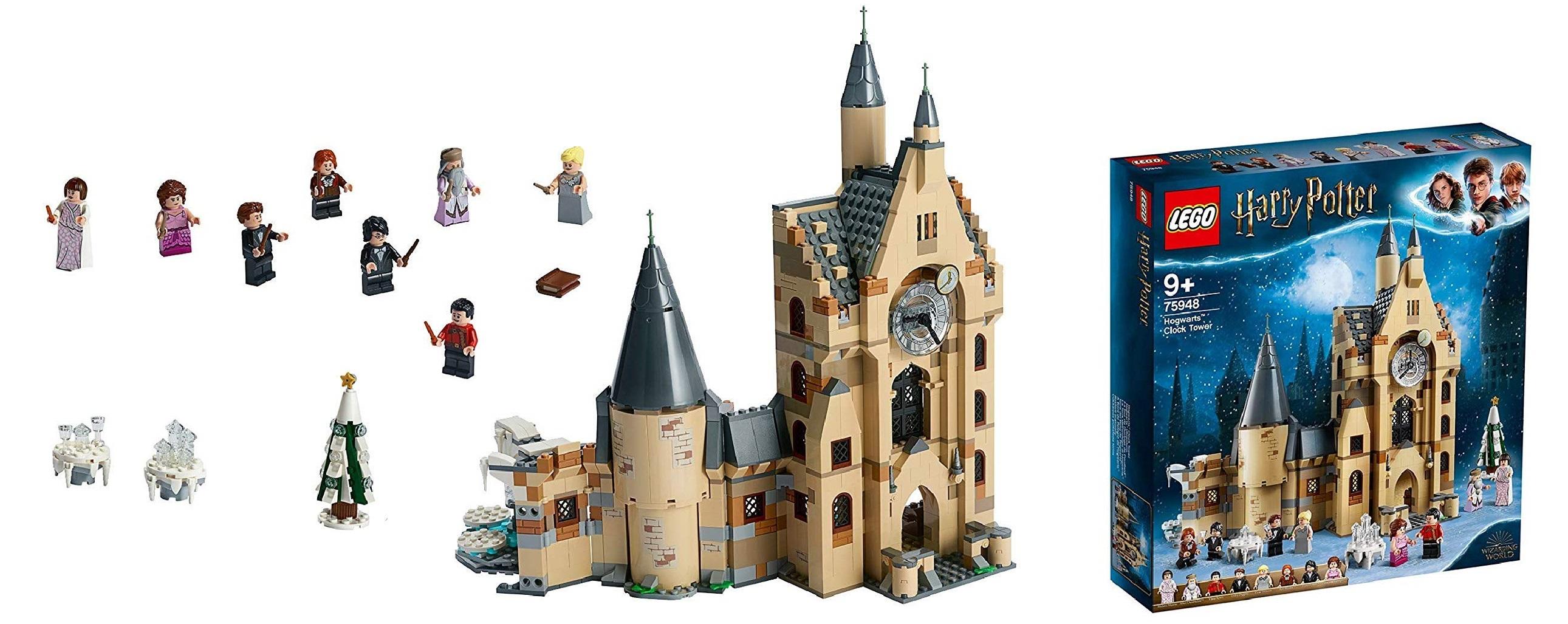 La Torre dell'Orologio di Hogwarts - Lego 75948
