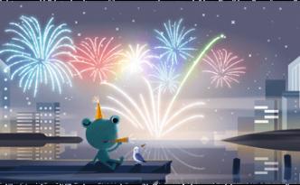 Notte di San Silvestro 2019: ecco il doodle di fine anno